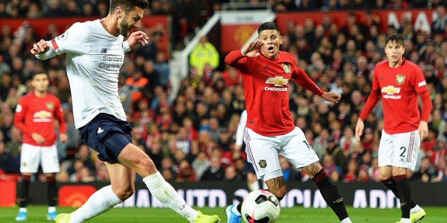 İngiltere Premier Lig'de Manchester United, Sahasında Liverpool İle 1-1 Berabere Kaldı