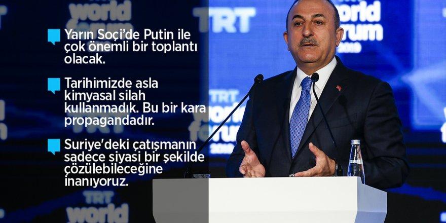 """Çavuşoğlu """"Geri Çekilmezlerse Operasyon Tekrar Başlayacak"""""""