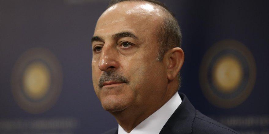 """Çavuşoğlu """"Harekat uluslararası hukuka uygun"""""""