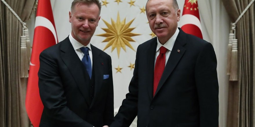 Maki, Erdoğan'a Güven Mektubu Sundu