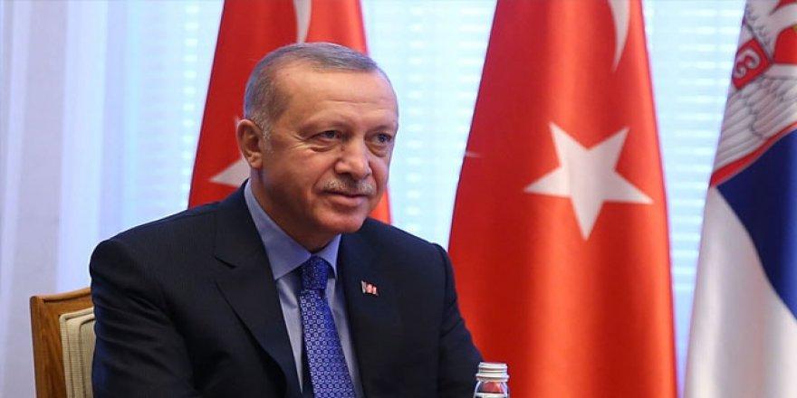 Cumhurbaşkanı Erdoğan, Beşiktaş Jimnastik Kulubü Başkanlığına Seçilen Ahmet Nur Çebi'yi Tebrik Etti