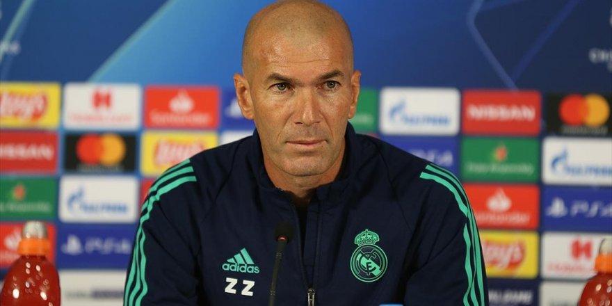Real Madrid'in Teknik Direktörü Zinedine Zidane: Kazanmak İçin Elimizden Geleni Yapacağız
