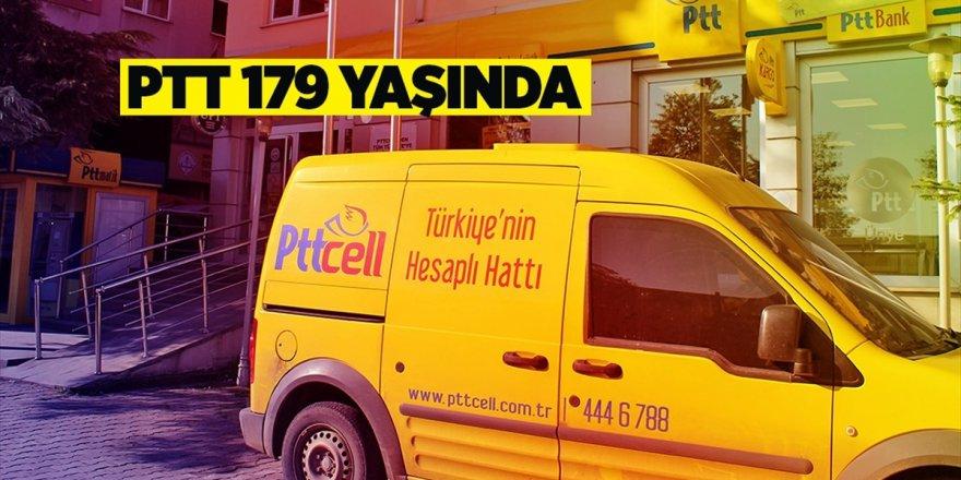 PTT AŞ, Bu Yıl 179'uncu Yaşını Kutluyor