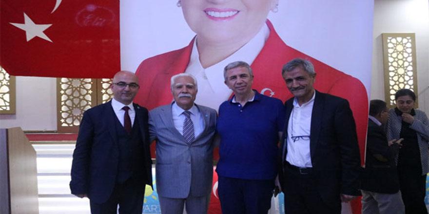 Mansur Yavaş İYİ Parti için sahada