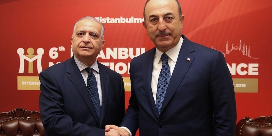 Dışişleri Bakanı Çavuşoğlu Mevkidaşı Hekim'le Görüştü