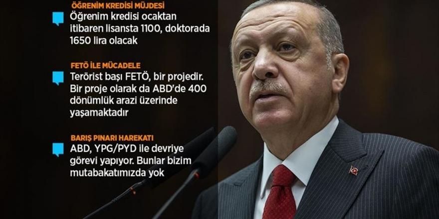 Cumhurbaşkanı Erdoğan'dan 'Öğrenim Kredisi' Müjdesi