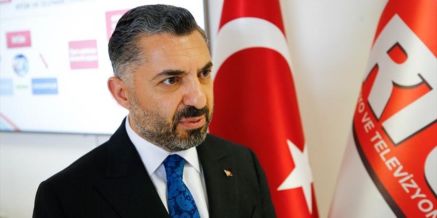 RTÜK Başkanı Şahin Türksat Yönetim Kurulu Üyeliğinden Ayrıldı