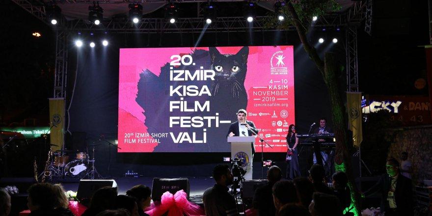 20. İzmir Kısa Film Festivali'ne muhteşem gala!