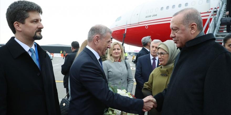 Cumhurbaşkanı Erdoğan Macaristan'a Geldi
