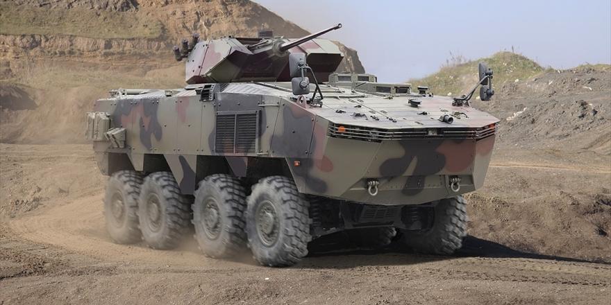 Askeri Araç İhracatında 8x8 Performans