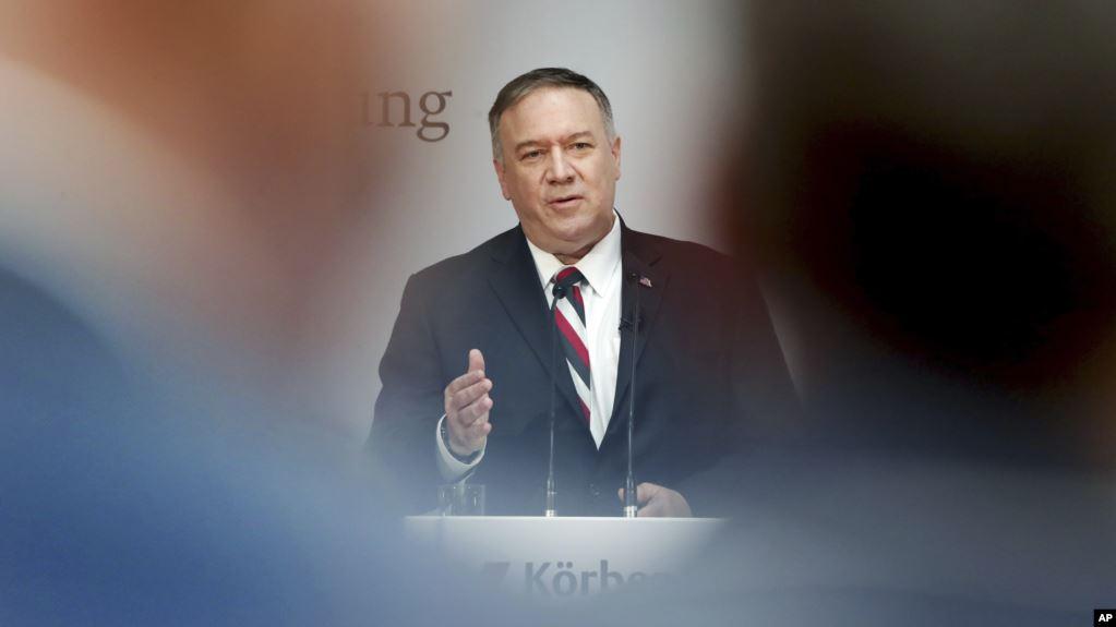 Almanya ABD Dışişleri Bakanı Pompeo'yu Ağırlıyor
