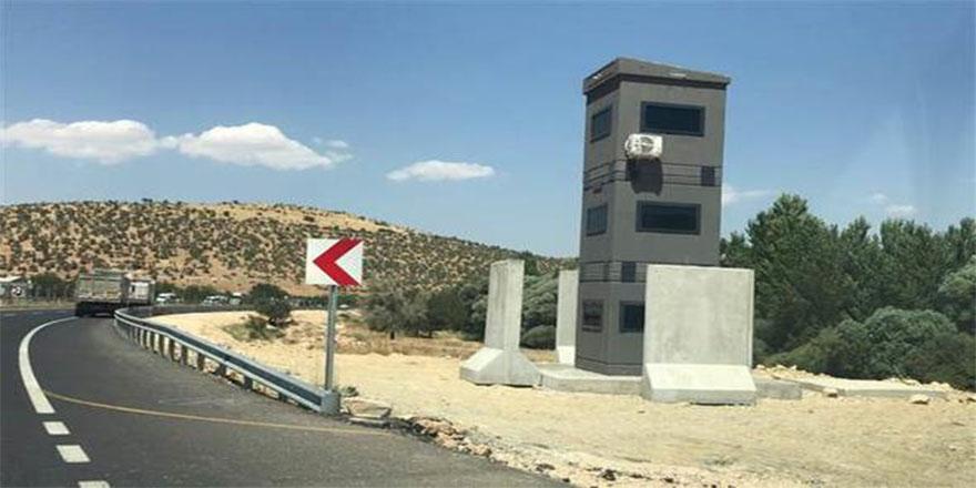 Kritik noktalara zırhlı güvenlik kuleleri diikiliyor