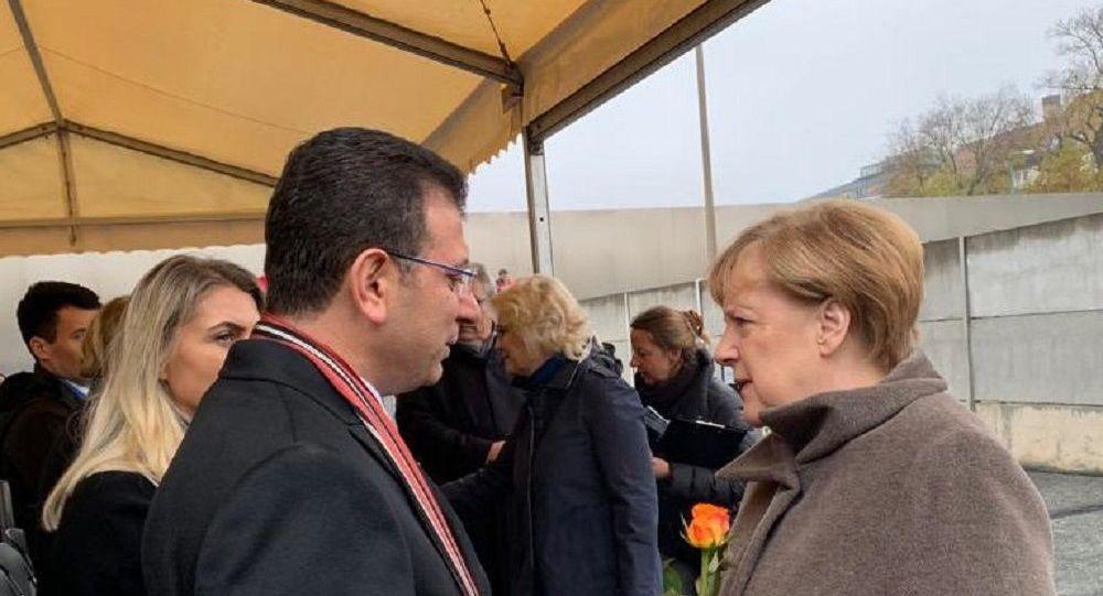 İmamoğlu: Merkel'i İstanbul'a davet ettim