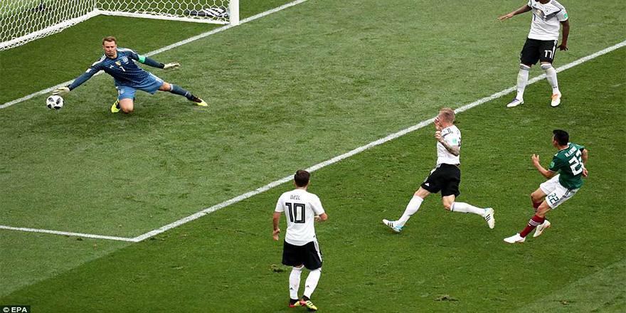 Dünya kupasında dev sürpriz