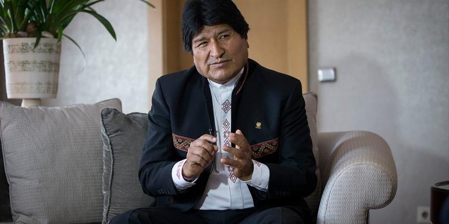 Evo Morales Meksika'nın İltica Teklifini Kabul Etti