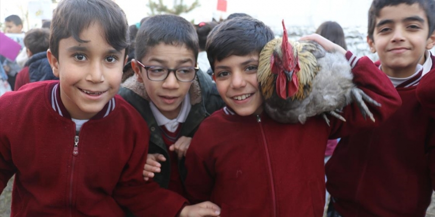 Miniklerin 'Can Dostları' İle Neşeli Eğitimi