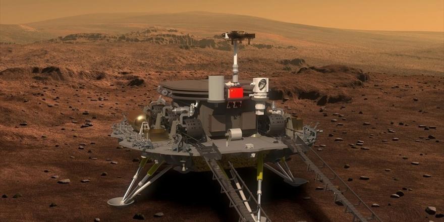 Çin 'Mars'a İniş Testi' Yaptı