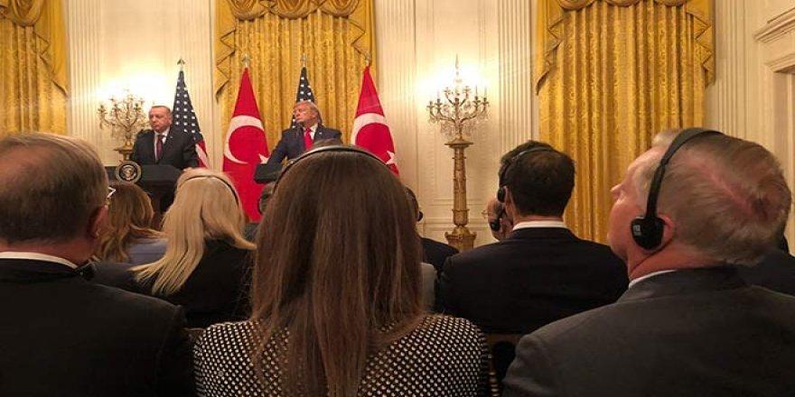 Türk medyası için Beyaz Saray'da kötü espri: Başka türlüsü kalmadı!