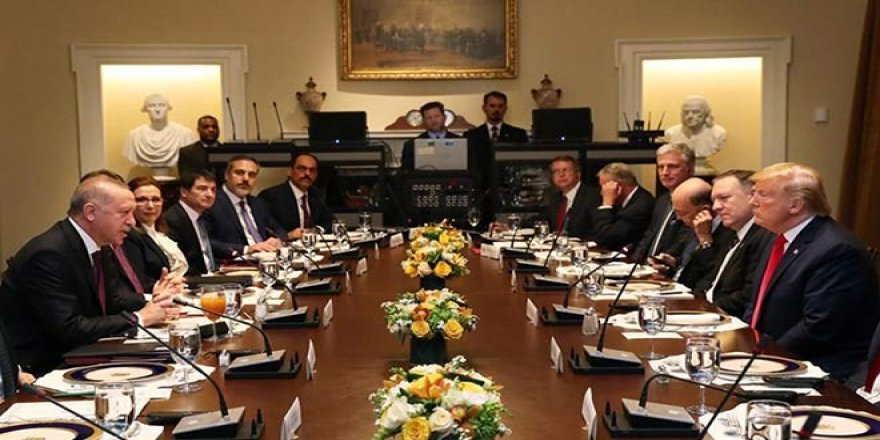 Trump ile kritik görüşmeye MHP'li isim de katıldı