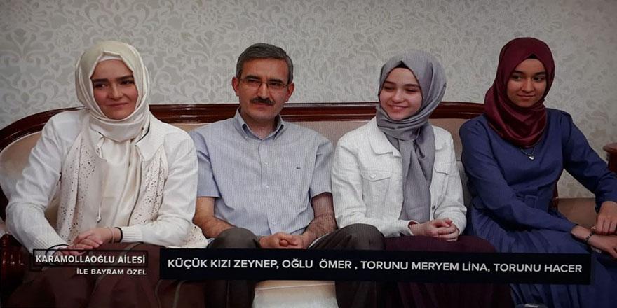 Karamollaoğlu ailesi ekranda