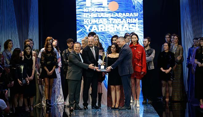 14. İstanbul İTHİB Uluslararası Kumaş Tasarım Yarışması'nda kazananlar belli oldu