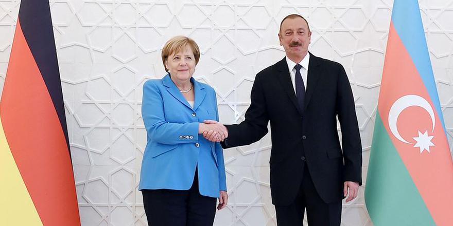 Merkel'in gözü Azerbaycan doğalgazında