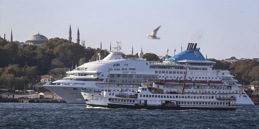Galataport Kruvaziyer Turist Sayısını 20 Binden 1,5 Milyona Çıkaracak