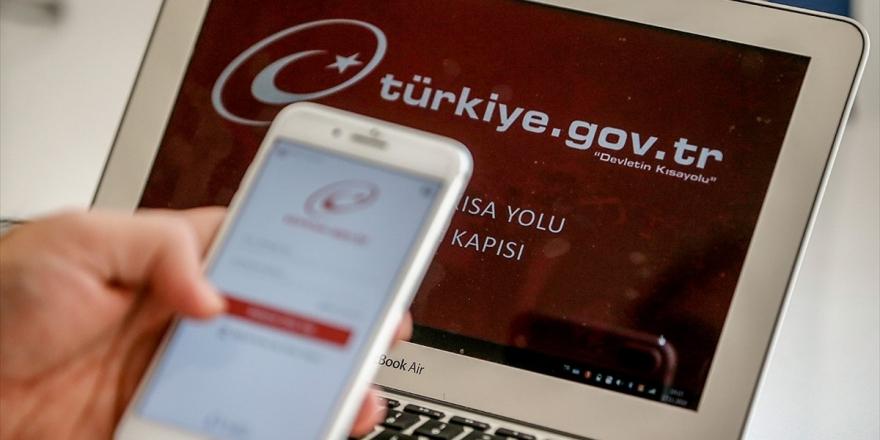 E-devlette Kullanıcı Sayısı 44,5 Milyonu Geçti