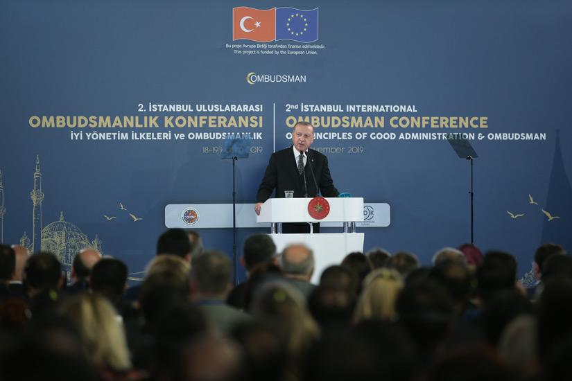 Cumhurbaşkanı Erdoğan Ombudsmanlık Konferansı'nda Konuştu