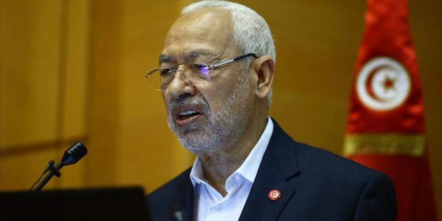 Tunus'taki Nahda Lideri Gannuşi: Yeni Hükümette Tunus'un Kalbi Partisi'ne Yer Verilmeyecek