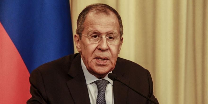 Rusya Dışişleri Bakanı Lavrov: Abd, Stratejik İstikrarı Bilinçli Olarak Bozuyor