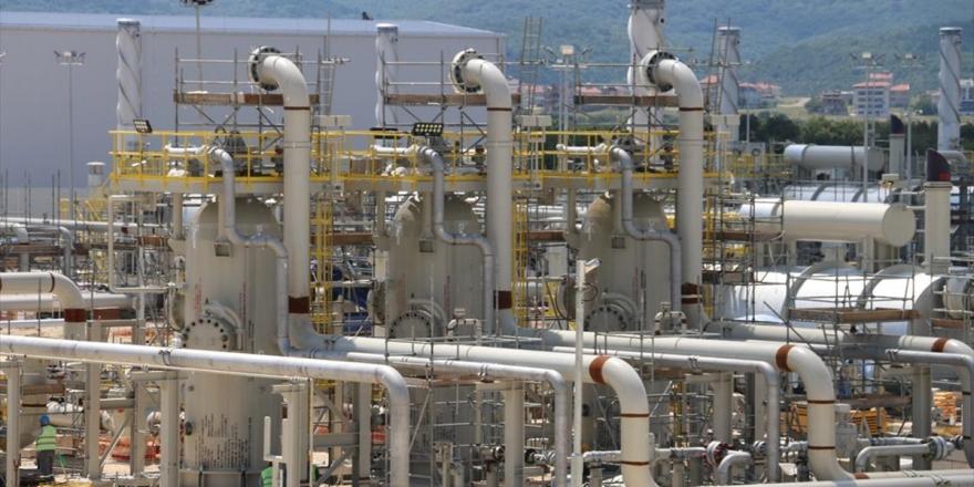 Türkakım'da İki Boru Hattı Da Doğal Gazla Dolduruldu