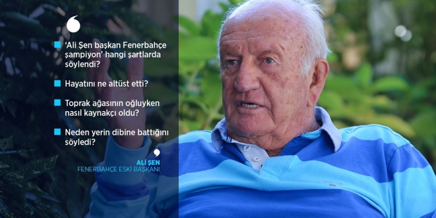 Şampiyonlukla Özdeşleşen Başkan: Ali Şen
