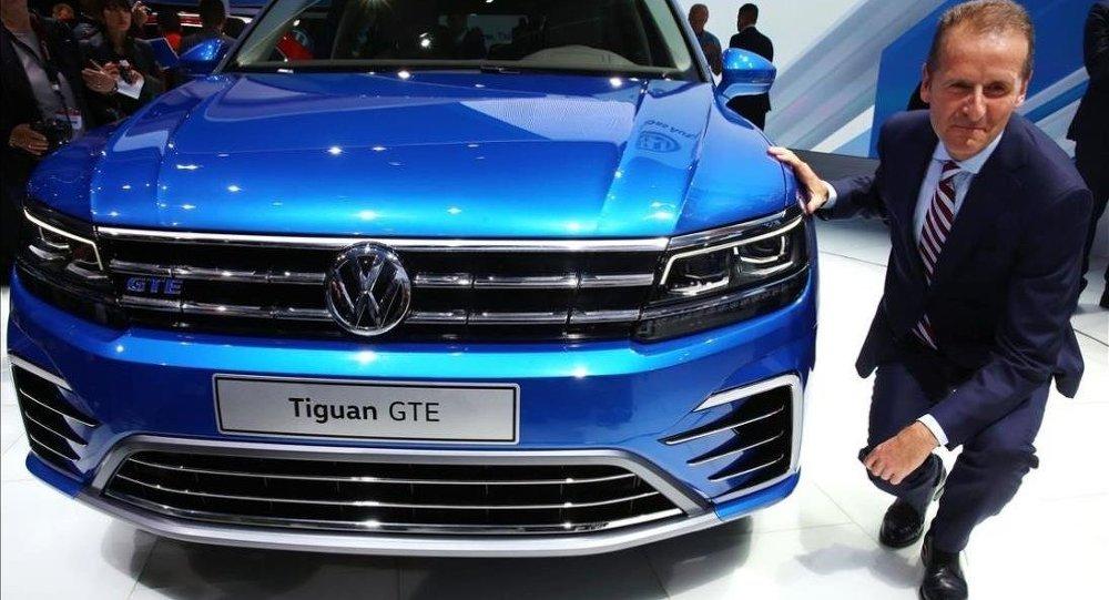 Volkswagen CEO'su: Harp meydanının yanına temel atmayacağız
