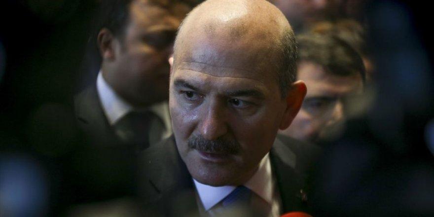 İçişleri Bakanı Soylu: Azez'de yakalanan terörist, DEAŞ'ın 'baş bombacısı'