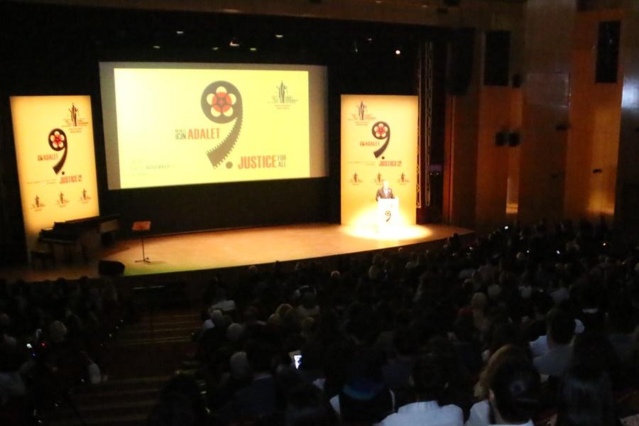 9. Uluslararası Suç ve Ceza Film Festivali Cemal Reşit Rey'de Düzenlenen Törenle Başladı