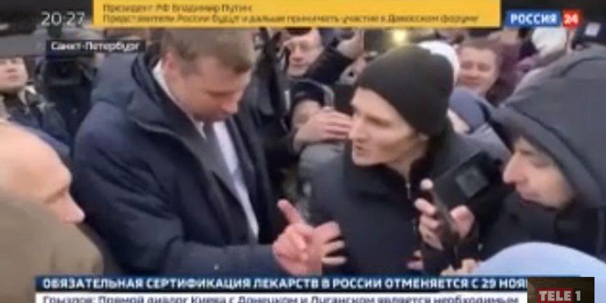 Putin'in zor anları