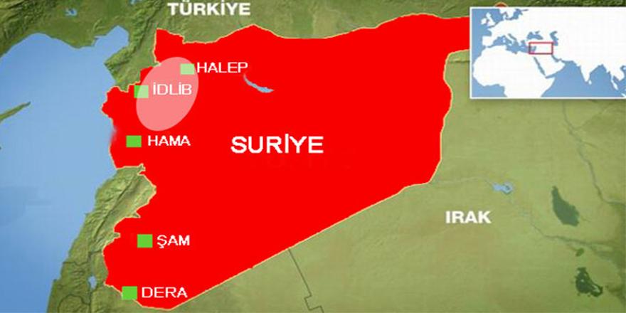 Suriye, Rusya ve Türkiye'den İdlib çevresine askeri takviye