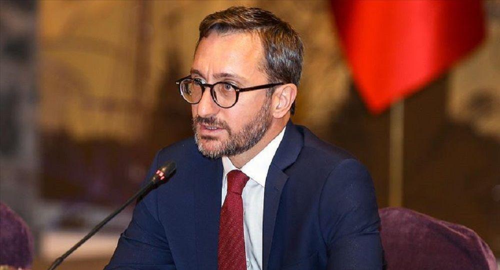 İletişim Başkanı Altun: Türkiye'nin sınırları, NATO'nun sınırlarıdır