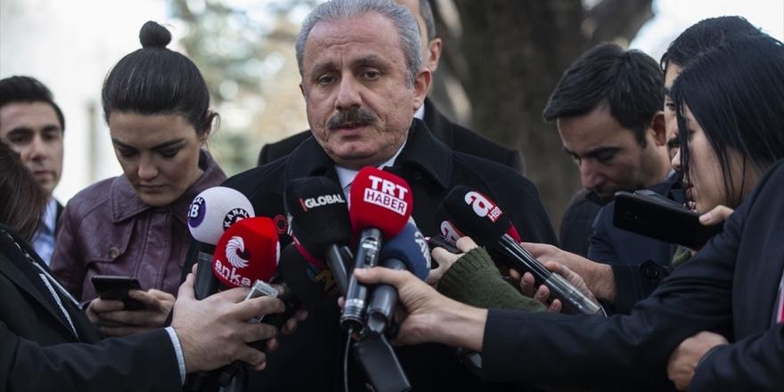 TBMM Başkanı Şentop: Libya İle Mutabakat Birçok Hesabı Bozdu