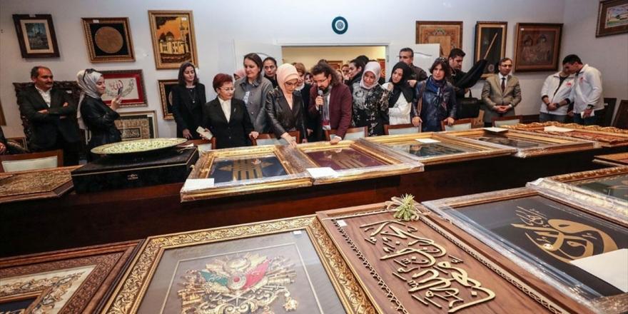 Emine Erdoğan 'Artsın Eksilmesin Dönüşüm Pazarı'nı Ziyaret Etti