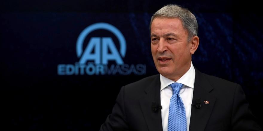 Milli Savunma Bakanı Akar Aa Editör Masası'na Konuk Olacak