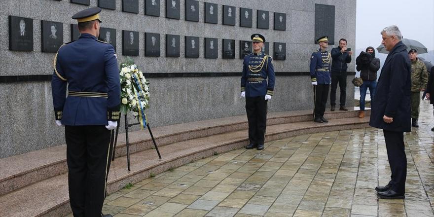 Kosova Cumhurbaşkanı Thaçi: Reçak, Sırbistan'ın Kosova'da İşlediği Katliamların Doruk Noktası