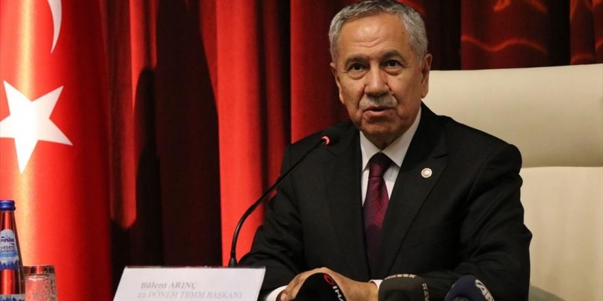 Arınç'tan Davutoğlu Öncülüğünde Kurulan Yeni Partiye İlişkin Açıklama