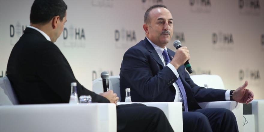 Dışişleri Bakanı Çavuşoğlu: Yaptırımlar Ve Tehditkar Dil Asla İşe Yaramaz