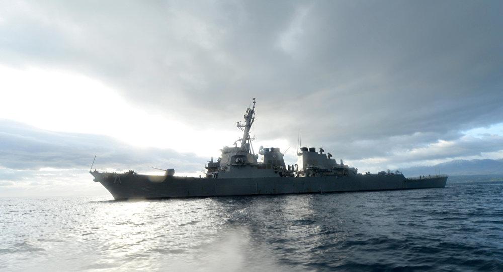 ABD savaş gemisi Karadeniz'e girdi