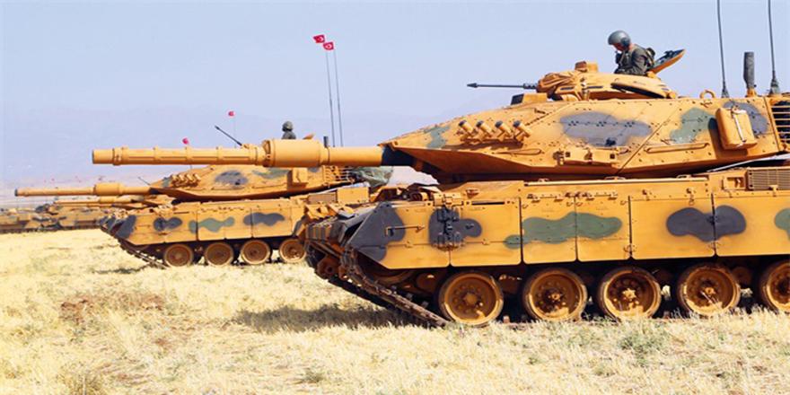Türk Silahlı Kuvvetleri sınır hattında teyakkuza geçti