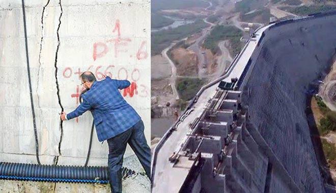 Melen Barajı'nda 'ufak' bir hata! 1.5 milyar liralık çatlak