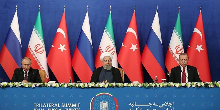 Tahran Zirvesi'nde 12 maddelik ortak bildiri kabul edildi