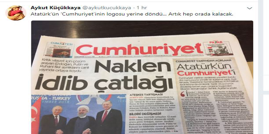 Cumhuriyet'in yeni yayın yönetmeninden ilk mesaj